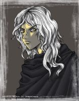 Raistlin Majere by DaneFallenBlackDrago