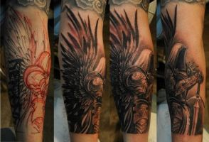 Tyrael Tattoo by KdX7