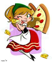 Pizza Fairy by mashi