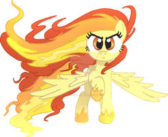 Elements ponies - Fire by DecPrincess