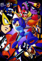 [MEGAMAN LEGACY COLLECTION] by Gengoro-Akemori