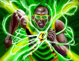 Usain Bolt by EclecticNinja
