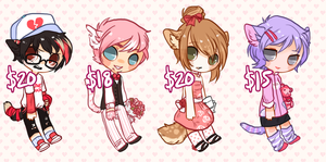 VALENCATS DAY - SET PRICE - ALL GONE by alpacasovereign