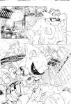 Sonic 4 Episode 2, pencils page 5 by Yardley