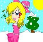 Me in Snowman by M1-Ana