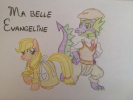 MLP Disney - Ma Belle Evangeline by gibina4ever