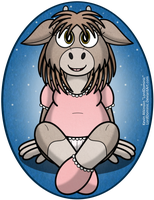 Sarah the Little Goat by LordDominic