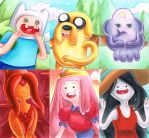 Adventure Time ACEOs by solitaryzombie