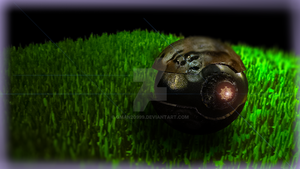Rusted busted old Pokeball 3Ds Max model by Gman20999