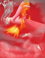 Fire Red by callisto-chan