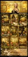 Autumn Tale backgrounds by moonchild-ljilja