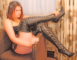 Cutie Pie or Bossy Boots? by ladiespet