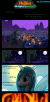 Hellfire: The Origin of Queen Chrysalis by Sorelstrasz