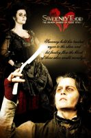 Sweeney Todd poster entry 9 by pamv