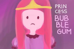 Princess Bubblegum by gicouy