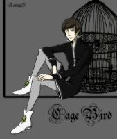 Lourde the cage-bird by Eninaj27