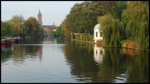 Peaceful mood at River Vecht by Esperimenti