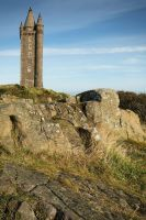 Scrabo Tower in October II by Gerard1972
