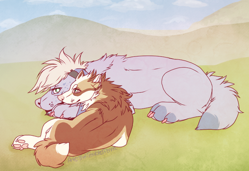 I'll Be Here by ThatTroubledFennec