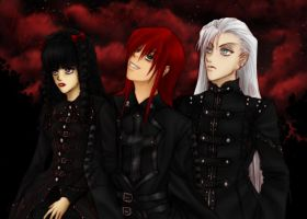 You, Me, and the Devil Makes 3 by BlackSylph