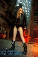 Black Canary Within The Alley by Superchica