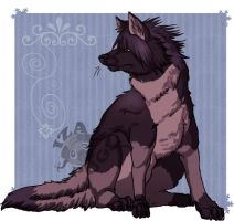 Noctis wolf form by IzaPug