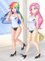 Walking to Tap Dancing class (Patreon Commission) by JonFawkes