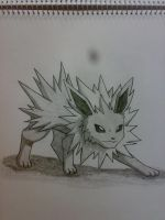 Jolteon by johnrenelle