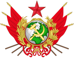 CoA of the Socialist World Republic by TiltschMaster