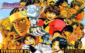 Eyeshield 21 Wallpaper 3 by NikeW