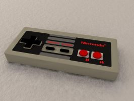 NES Controller by Xprinceofdorknessx