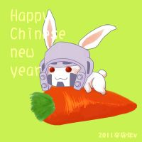 Happy Chinese new year by iloveop