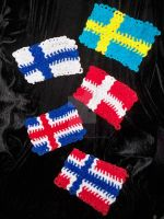 Pipe Cleaner CM Nordic Flags by DannyP514