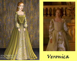 Veronica in Yellow by msbrit90