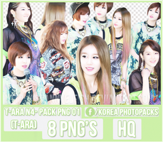 T-ara N4 (T-ara) - PACK PNG#01 by JeffvinyTwilight
