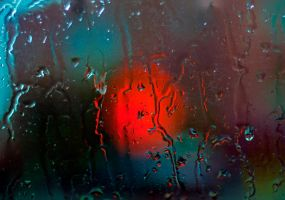 Drops on the Window by Mackingster