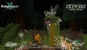 IntoTheWoods Skywars Map -  08 by TheFlyinFerret