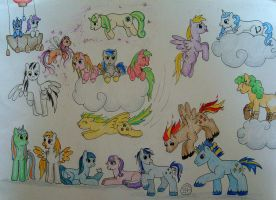 MLP Group Picture by XcubX