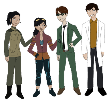 generator rex gender bends by neopuff
