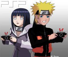 Naruto X Hinata - PSP by crosscutter