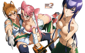 Highschool of the Dead 01 by McanimePhotoshop