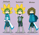 Vyse- Seasonal flower by MagicBirb