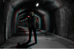 Tunnel Terror 3-D conversion by MVRamsey