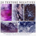 Texture Pack 13: Negatives Vol. III by mercurycode
