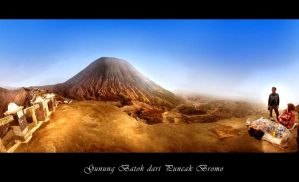 Batok from Bromo Mountain by Pandowo014