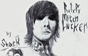 R.I.P. Mitch Lucker by SnarkTheKitten