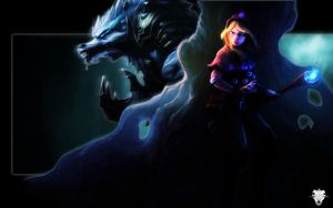 Lux and Warwick - League of L by nmoreKharon