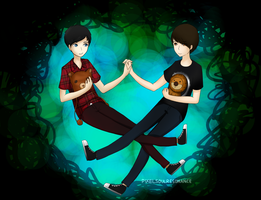 Dan and Phil by PixelSoulResonance