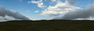 Clouds over the tundra by NikolaiMalykh
