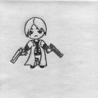 Dante Chibi - Devil May Cry by duo-kun